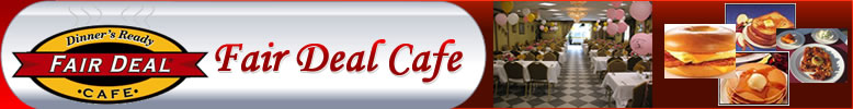 Fair Deal Cafe Logo Banner- Dining & Wine - Find food & wine  recipes, cooking, desserts, chefs, fine dining, cuisine, plan your party at fair deal cafe at very low prices, meeting rooms, banquet facilities